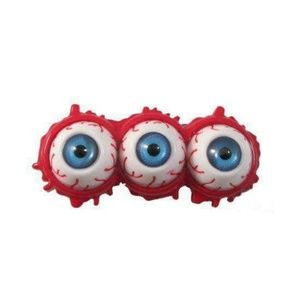 Gory three-eyed slider hair clip